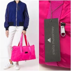 453b68a44755 Stella McCartney Adidas Pink Yoga Gym Bag Handbag